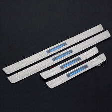 For Mazda 6 2003-2008 Blue LED Stainless Steel Door Sill Scuff Plate Protector