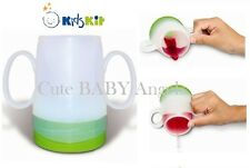 Kids Kit Training Drinking Cup Non-Spill Baby Weaning Glass - Reduces Chocking