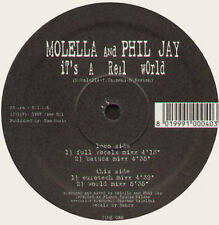 MOLELLA & PHIL JAY - It's A Real World - Time