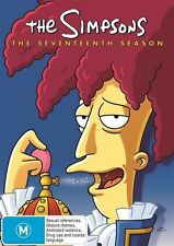 The SIMPSONS: The COMPLETE Season 17 DVD TV SERIES BRAND NEW 4-DISCS BOX SET R4