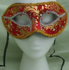 Red/Gold Venetian Masquerade Fancy Dress Ball Costume Party Eye Mask (10)