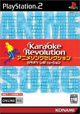 USED Karaoke Revolution ~ Anime Song Collection japan import PS2