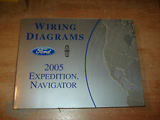 2005 FORD EXPEDITION LINCOLN NAVIGATOR WIRING DIAGRAMS SERVICE MANUAL SHOP BOOK