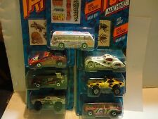 Hot Wheels Tattoo Machines Lot of (7) Different