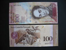 Venezuela 100 bolívares 27.12.2012 (p93e) UNC