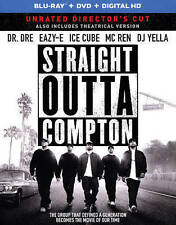 Straight Outta Compton (Blu-ray + DVD + DIGITAL HD with Ultraviolet), Good DVD,