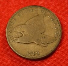 1858 SL FLYING EAGLE CENT PENNY VG NICE COLLECTOR COIN GIFT FE71