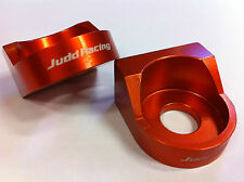 AXLE BLOCKS KTM 65 SX 65SX 2006 2007 2008 2009 2010 2011 2012 2013 2014  ORANGE