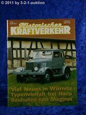 Historischer Kraftverkehr 5/95 Hanomag SS55 Borgward