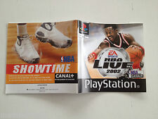 Notice/manuel/mode d'emploi NBA live 2002 SONY Playstation 1 PAL FR