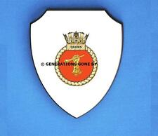 HMS QUORN WALL SHIELD (FULL COLOUR)