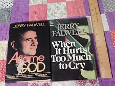 A Flame For God(SIGNED) + When It Hurts Too Much To Cry (HCwDJ) Jerry Falwell