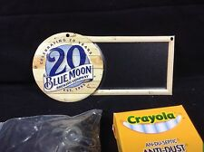 Blue Moon Belgium Beer Sign Mini Chalkboard New !! Bar Pub