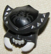 LEGO NEW SCORPION HELMET WITH FANGS LEGENDS OF CHIMA HEADGEAR PIECE
