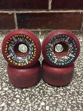 Powell Peralta Rats Bones Wheels 57mm 95A Red Old School Skateboard Vintage