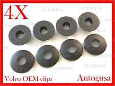 GENUINE OEM VOLVO SAAB CAR MAT CLIPS FIXING GRIPS CARPET CLAMPS FLOOR HOLDERS 4X