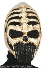Homme adulte predator crâne halloween fancy dress costume outfit masque accessoire