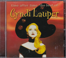 CD 15T CYNDI LAUPER TIME AFTER TIME THE BEST OF 2000 GERMANY