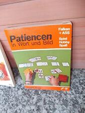 Patiencen in Wort und Bild, von Irmgard Wolter, aus dem Falken Verlag