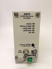 Antec XMTR LLNTR 1541.35 nm 5-210 MHz Fiber Optic Return Transmitter