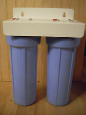 """Dual Stage  Water Filter System 1/2"""" FPT WITH FILTERS"""