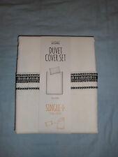 * Nuevo * primark blanco bordado de Un solo Tamaño ropa de Cama Edredón RRP £ 18 Regalo Ideal