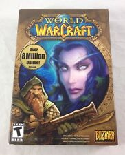 World of Warcraft Computer Video Game Mac PC 6 Discs Manual Promo Book Guest Key