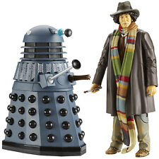 NEW Dr Who - 4th Doctor & Dalek Twin Figure Set Genesis of The Daleks Tom Baker