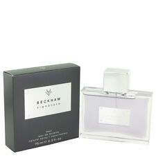 SIGNATURE FOR MEN 75ml EDT SPRAY BY DAVID BECKHAM ------------------ NEW PERFUME