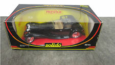 Solido 8001 Prestige Bugati Royale Diecast Model 1:18 Scale Car