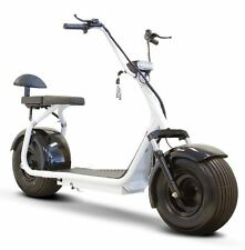 E-Wheels Fat Tire Electric Scooter EW-08 + Free Safety Vest & Bluetooth Speaker!