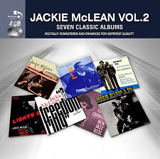 Jackie McLean SEVEN CLASSIC ALBUMS VOL 2 Lights Out MAKIN' THE CHANGES New 4 CD