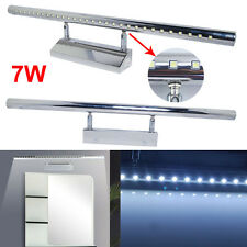 7W LED Wall Picture Lamp Front Mirror Light Strip Lighting Bathroom White 6000K