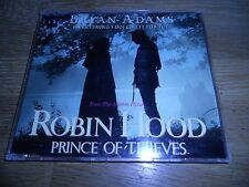 """BRYAN ADAMS """"EVERYTHING I DO (I DO IT FOR YOU)"""" 1991 4 TRACKS CD WITH LIVE TRACK"""