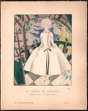 Charles Martin. Gazette du bon ton. 1920 - planche 52. Paul Poiret