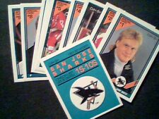 91/92 O-PEE-CHEE INSERTS (SAN JOSE SHARKS / USSR) 66-CARDS SET (1S-10S/11R-66R)