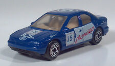 "1994 Matchbox Ford Mondeo Ghia 3"" 1:59 Scale Model ICS Rally Race Car Blue"