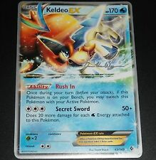 ~Pokemon Ultra Rare Holo Foil Keldeo EX Card 49/149 BW Boundaries Crossed~!