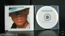 Alicia Keys - How Come You Don't Call Me 4 Track CD Single Incl Video