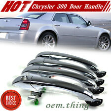Chrysler 300 300C Dodge Magnum Charger Out 4 Door Handle Chrome Set New