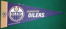 EDMONTON OILERS NHL MINI PENNANT, NEW & MADE IN USA