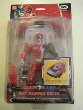 POWER RANGERS S.P.D. RED RANGER DELTA TRASFORMABILE