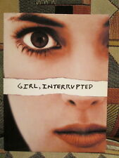 GIRL, INTERRUPTED - WINONA RYDER / ANGELINA JOLIE advert / photos RARE press set