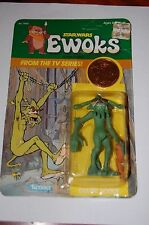 Scout Dulok-Star Wars-Ewoks Cartoon-MOC-Vintage Unpunched