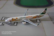 Aeroclassics Eva Air Airbus A321 Gudetama Color Sharklet Diecast Model 1:400