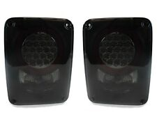 DEPO 2007-2014 JEEP WRANGLER JK BLACK ALL SMOKE LED TAIL LIGHT