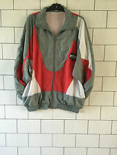 VINTAGE OLD SCHOOL RETRO 90'S URBAN TRACK JACKET SHELLSUIT WINDBREAKER L/XL