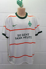 VINTAGE NIKE WERDER BREMEN GOALKEEPER FOOTBALL SHIRT TRIKOT 2009/2010 XL