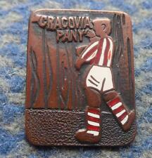 CRACOVIA KRAKOW POLAND FOOTBALL FUSSBALL SOCCER 1970's PIN BADGE