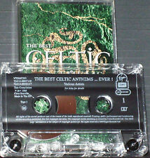 VARIOUS THE BEST CELTIC ANTHEMS EVER  CASSETTE 19TRACKS THIN LIZZY DUBLINERS